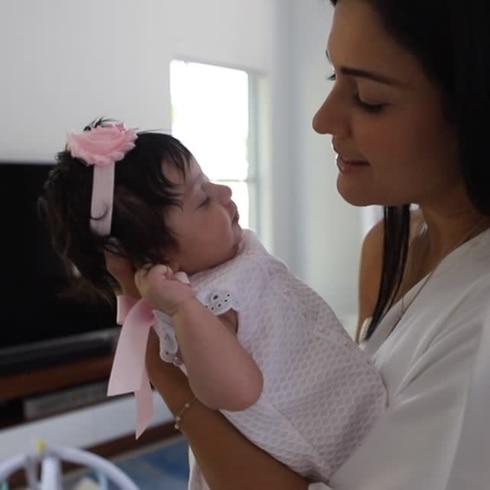 ¡Se conmueve Xioana Nieves! Mira cómo está su hermosa bebé