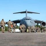 Guardia Nacional de Puerto Rico parte rumbo a Washington, D.C.