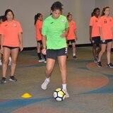 La selección femenina de fútbol está lista para su segundo partido ante República Dominicana