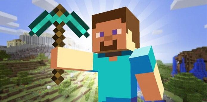 Minecraft permite a sus usuarios construir y explorar en un mundo virtual.