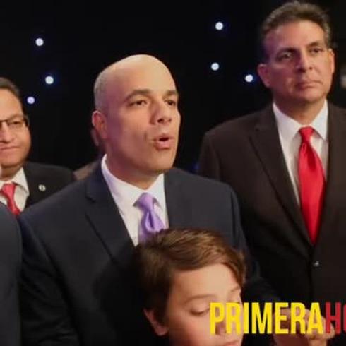 Candidatos a comisaría residente reaccionan tras debate