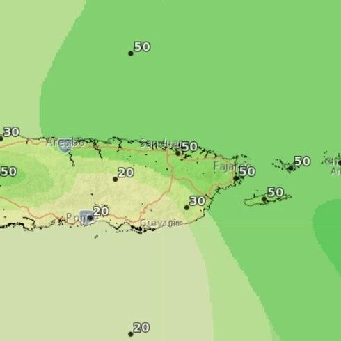 La hora del tiempo: aumenta la probabilidad de lluvia en el este mañana
