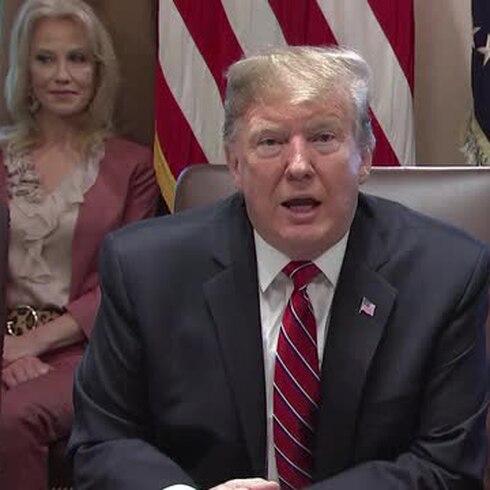Donald Trump confiesa que no está feliz