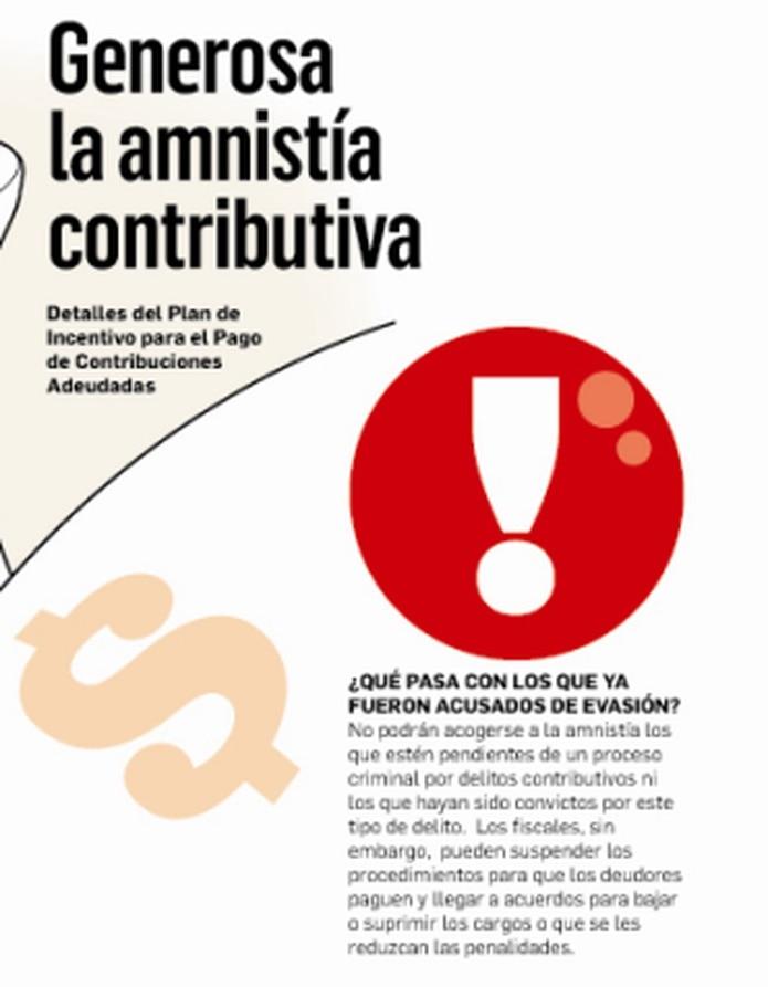 La nueva amnistía no solo va a beneficiar a los que le deben al Departamento de Hacienda, sino también a los que ni siquiera han radicado planillas, lo que constituye un delito. (Primera Hora)