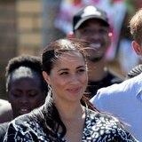 Duques de Sussex reaparecen en público tras desligarse de la realeza