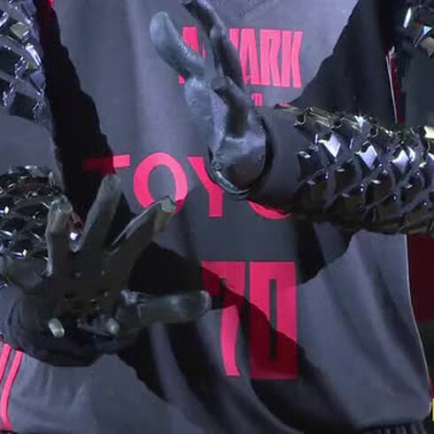 El robot baloncelista que te dejará boquiabierto