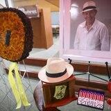 Familiares y amigos despiden a Ramoncito Rodríguez
