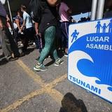 Agencias realizan simulacro de tsunami este jueves
