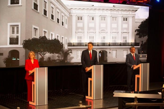 Primer debate entre los precandidatos a la gobernación por el Partido Popular Democrático