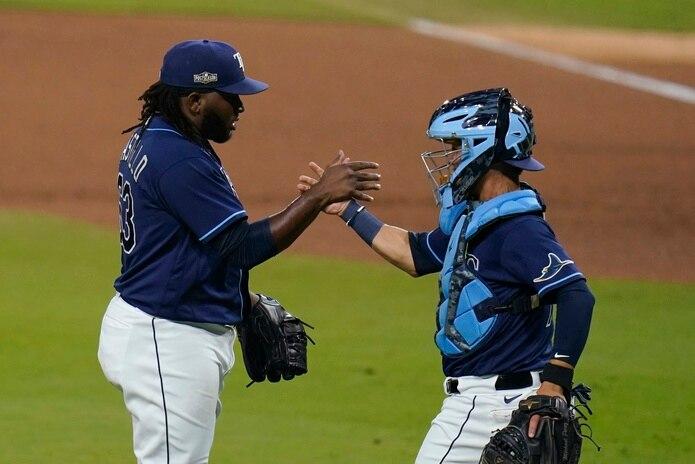 El relevista Diego Castillo, ahora con los Mariners, tiene una sólida experiencia en postemporada con los Rays de Tampa Bay.