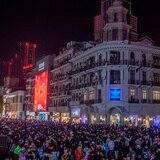 Wuhan celebra la llegada del 2021 con sus calles abarrotadas
