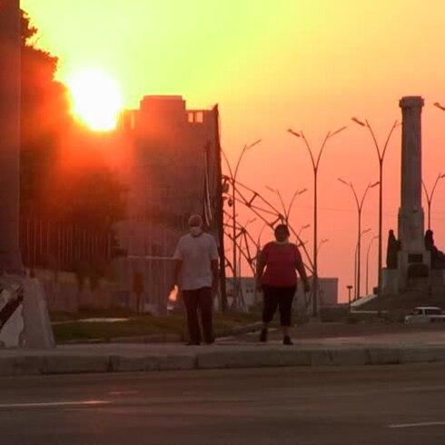 Toque de queda en La Habana