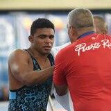 Franklin Gómez conquista medalla de plata en lucha olímpica