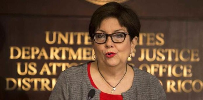 Jefa de la Fiscalía Federal en Puerto Rico, Rosa Emilia Rodríguez Vélez (Archivo)