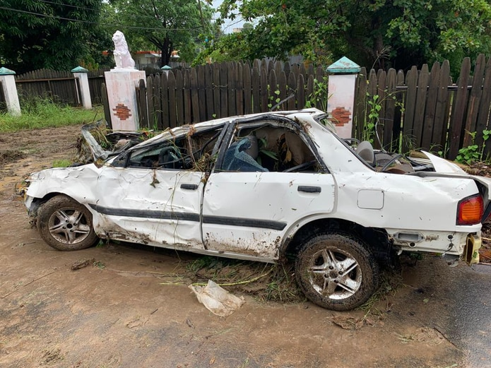 Las autoridades intentan dar con una persona que supuestamente fue arrastrada por una quebrada en el barrio Calvache de Rincón.