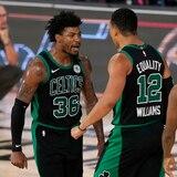 Los Celtics ponen en aprietos a los campeones de la NBA