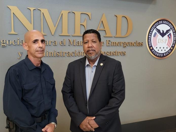 Ángel Modesto Vázquez Torres y Nino Correa Filomeno han trabajado juntos en múltiples situaciones, entre ellas durante el huracán María y terremotos. Suministrada