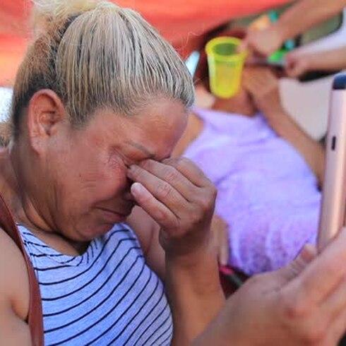 Lloran los refugiados de Guánica tras sobrevivir dos terremotos