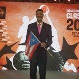 Piculín inmortalizado en el Salón de la Fama de la FIBA