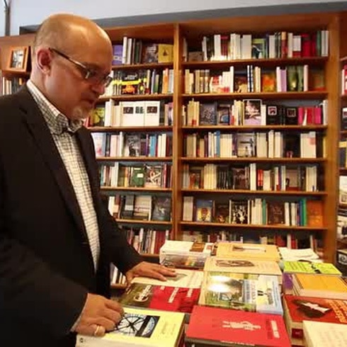 Los libros son el escape de Rafael Bernabe