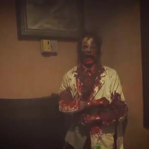 Con la boca es un mamey: ¿Te atreves a ser un monstruo en una casa embrujada?