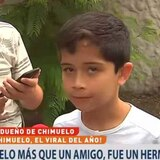 ¿Quién grabó el peculiar entierro de Chimuelo?
