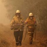Baja en temperatura  trae un poco de alivio a fuegos en Australia