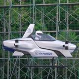 """Auto volador"" japonés despega con persona a bordo"