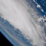 ¡Impresionante! Graban al huracán Dorian desde el espacio
