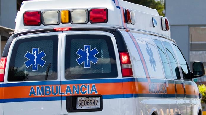 El trabajador fue transportado al Hospital San Cristóbal en Ponce.