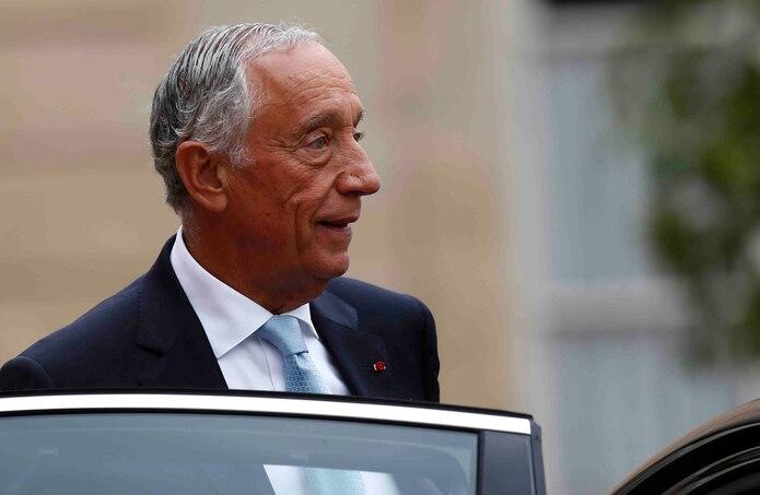 Marcelo Rebelo de Sousa trabajará desde su propia residencia.(AP)
