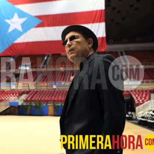 Rubén Blades llega al velorio de Cheo Feliciano