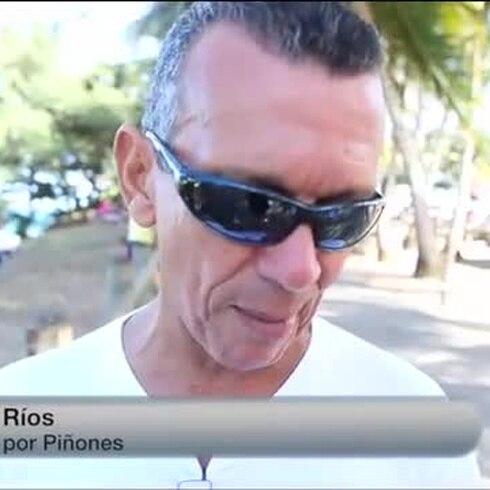 Cautelosos en Piñones