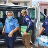 Policía de Arecibo inicia recolección de artículos para damnificados en Haití