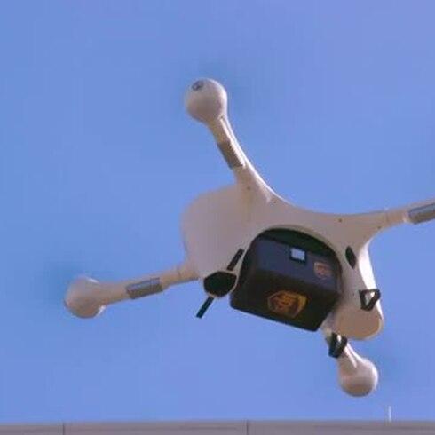 UPS comienza a usar drones para transportar medicamentos