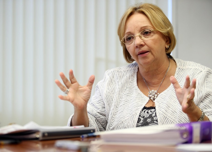 La presidenta del panel del Fiscal Especial Independiente (FEI), Nydia Cotto Vives. (GFR Media)