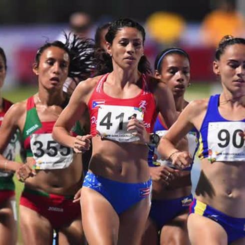 Beverly Ramos conquista su segunda medalla de plata en Barranquilla