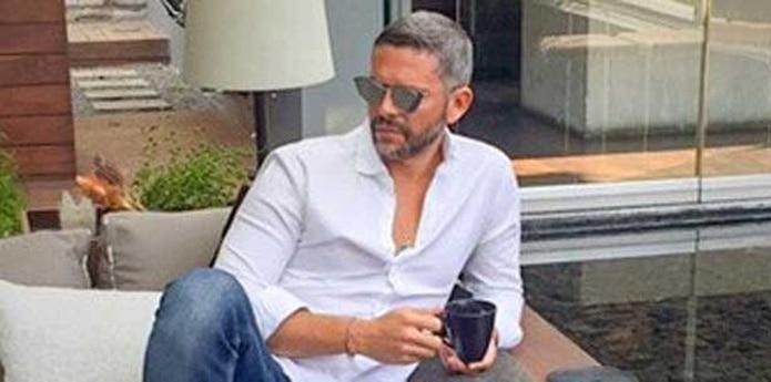 Rodner Figueroa no ha dejado de compartir fotos mostrando su nuevo look. (Captura/Instagram/rodnerfigueroa)
