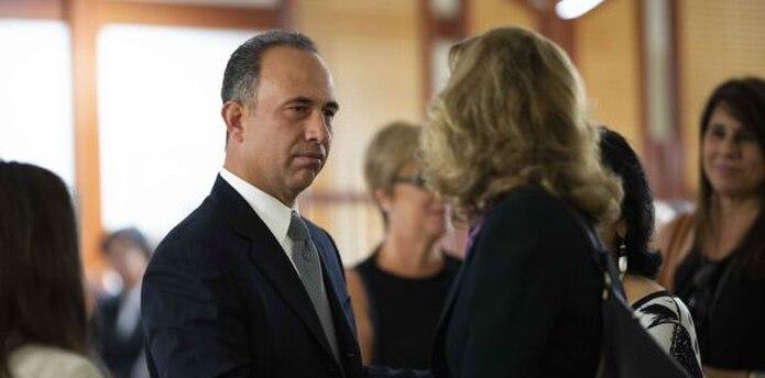 Eduardo Ferrer, hermano del expresidente de la Pava, defendió la memoria de su hermano. (tonito.zayas@gfrmedia.com)