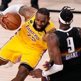 Los Lakers están a un paso de regresar a la final de la NBA