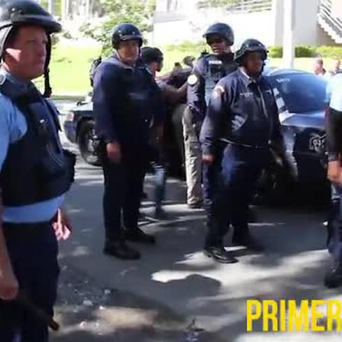 Dos detenidos por alegados daños a propiedad del Capitolio