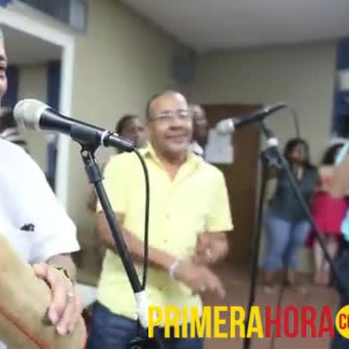 La Sonora Ponceña ensaya de cara a su concierto