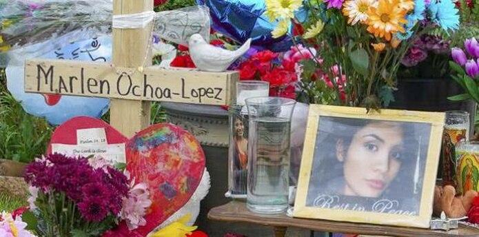 El bebé de Marlén Ochoa López falleció en el centro médico Advocate Christ de Oak Lawn. (AP / Teresa Crawford)