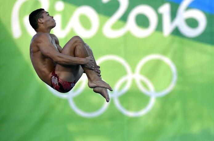 El clavadista Rafael Quintero tuvo su debut olímpico el mes pasado en los Juegos de Río y durante dos días demostró estar a la altura de los mejores clavadistas del mundo.