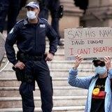 """Unos 5,000 australianos se tiran a la calle  en apoyo al """"Black Lives Matter"""""""