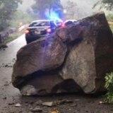 Ordenan cierre inmediato de carretera de Aibonito a Coamo por caída de rocas