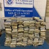 Confiscan 492 libras de cocaína en ferry que viaja entre Santo Domingo y San Juan