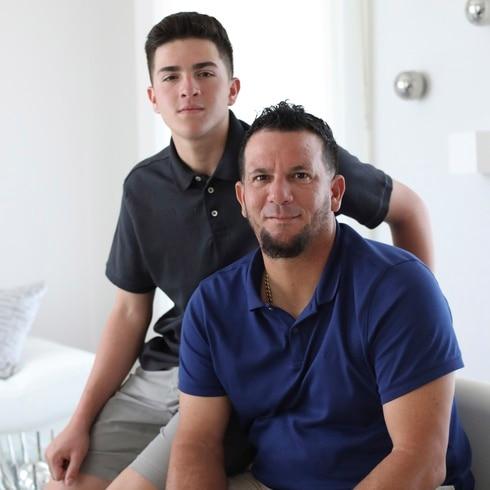 Orlando Román y su hijo tienen otro motivo para celebrar el Día de los Padres