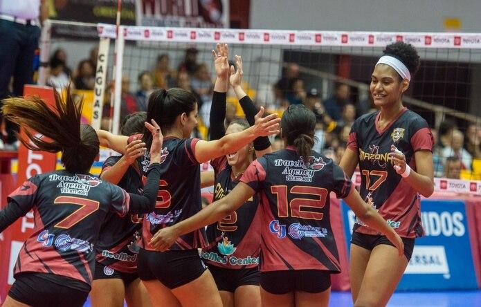 Unas 160 jugadoras compiten en el torneo de la Liga de Voleibol Superior Femenino.