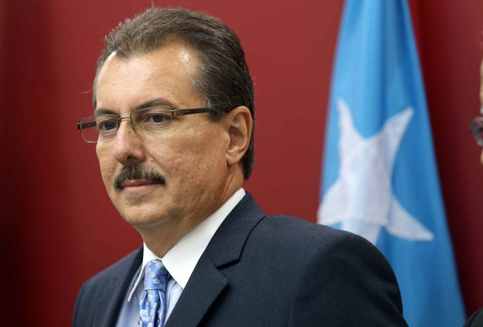 El secretario de Hacienda, Juan C. Zaragoza Gómez.